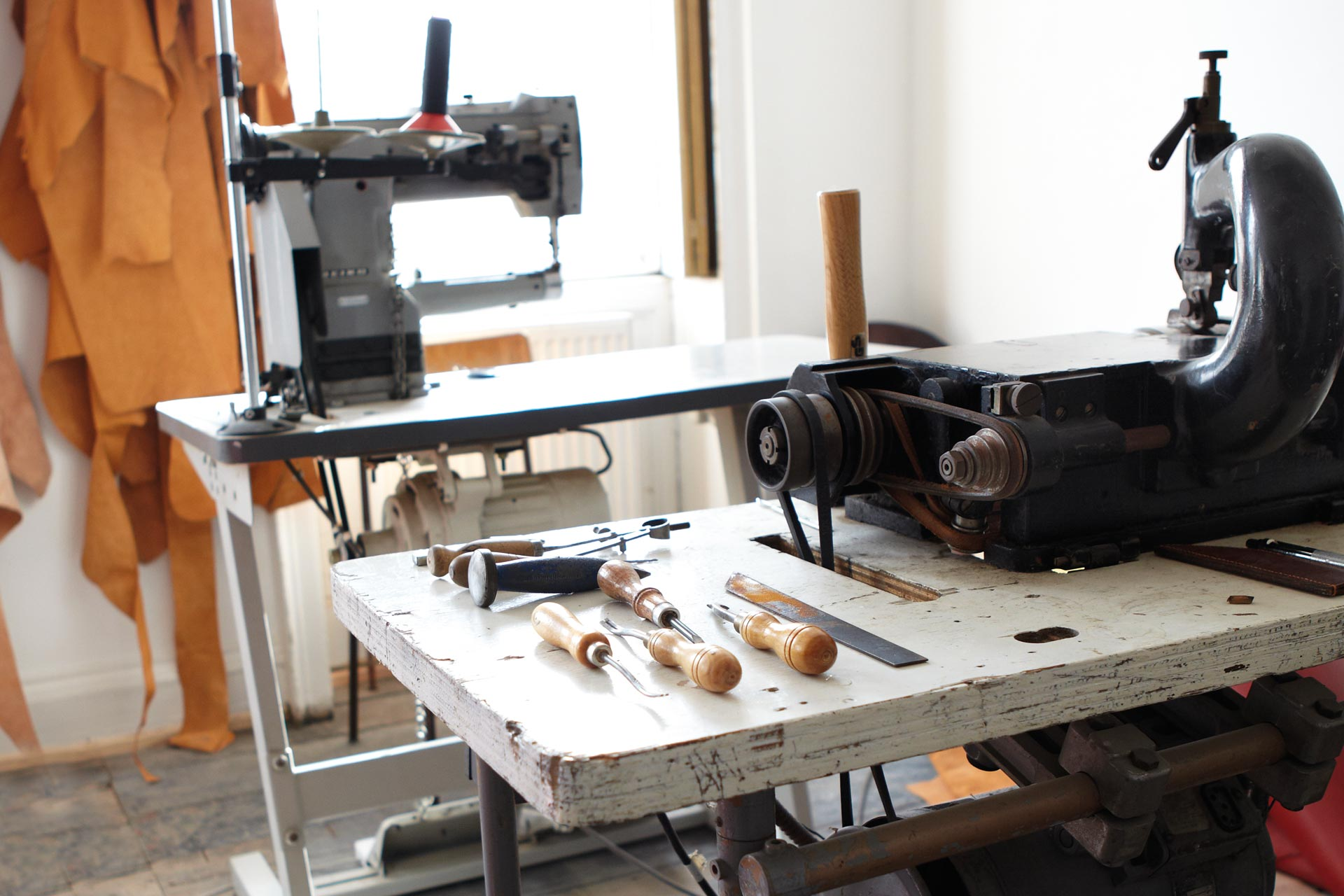 Bespoke & Bounds' Leather Working Studio